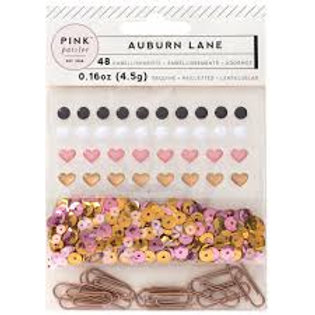 Pink Paislee - Auburn Lane - Mixed Embellishments
