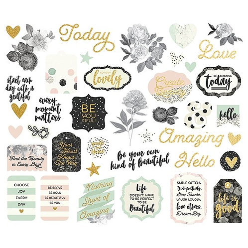 Simple Stories - Beautiful Die Cuts