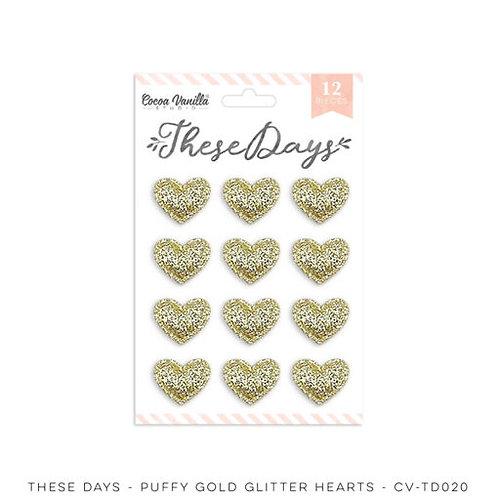 Cocoa Vanilla Studios *PRE-ORDER* THESE DAYS – Glitter Hearts