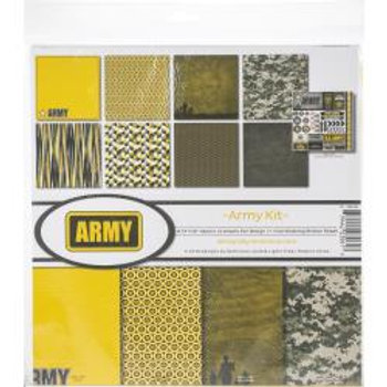 12X12 KIT -ARMY COLLECTION