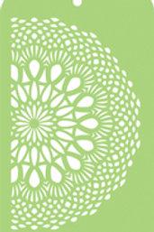 Mini Designer Templates - Lace Doily