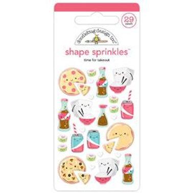 Doodlebug - Shape Sprinkles - Take out
