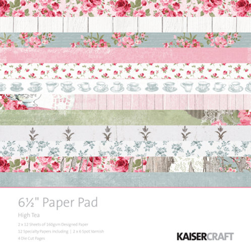 High Tea Paper Pad 6.5inch