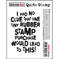 Darkroom Door Quote Stamp - Stamp