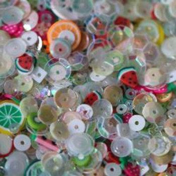 Dress My Crafts Sequins 25gms Tutti Frutti