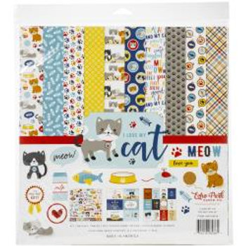 "Echo Park Collection Kit 12""X12"" I Love my Cat"