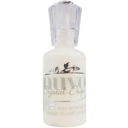 Nuvo Crystal Drops - Gloss -  Simply White