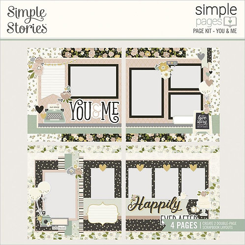 Simple Stories Simple Pages Page Kit - You & Me