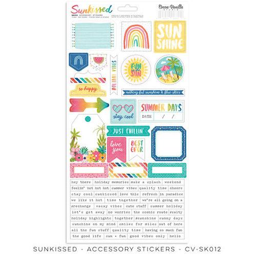 Cocoa Vanilla Studios - Sunkissed - Accessory Stickers