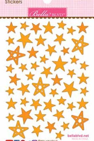 Bella BVD Puffy Stars - Orange