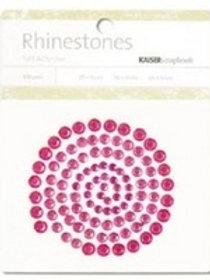 Hot Pink Rhinestones