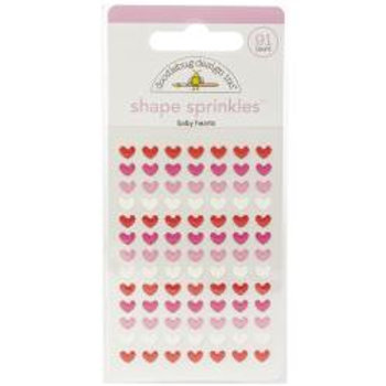 Doodlebug Design - Shape Sprinkles - Baby Hearts