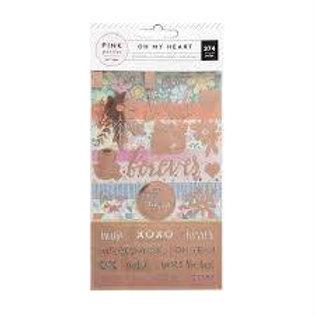 Pink Paislee - Oh My Heart Sticker Book