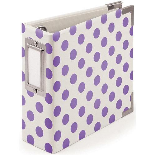 We R Memory Keepers 4x4 Neon Album Purple