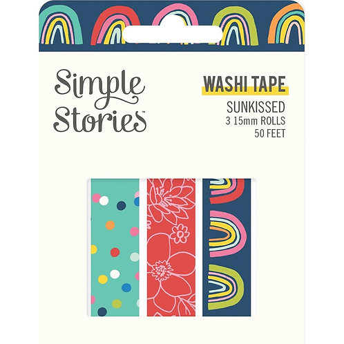 Simple Stories Sunkissed Washi Tape 3pk