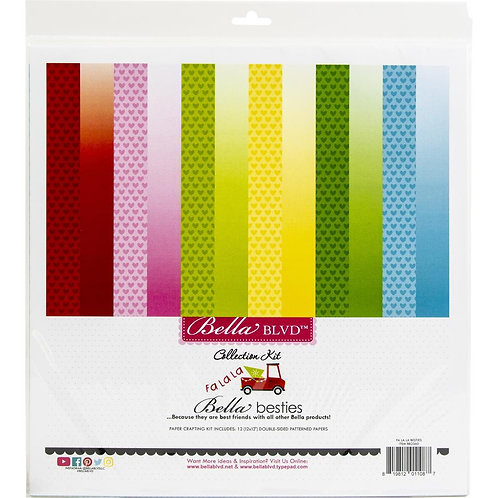 "Bella Blvd Besties Collection Kit 12""X12"""