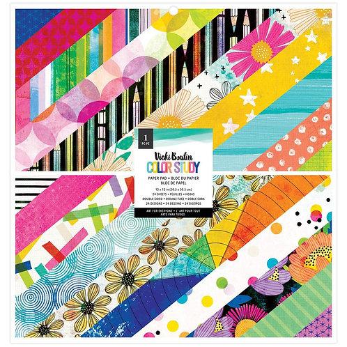 Vicki Boutin Color Study 12x12 Paper Pad