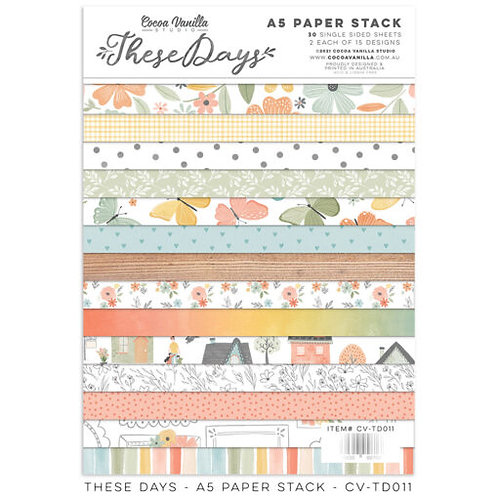 Cocoa Vanilla Studios *PRE-ORDER* THESE DAYS – 6x8 Papers