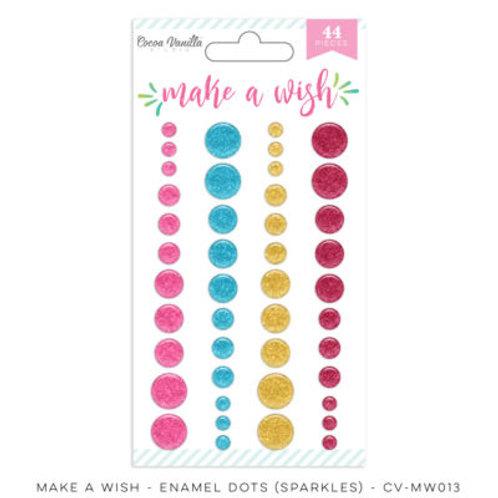 Cocoa Vanilla Studio Make a Wish - Enamel Dots Sparkles