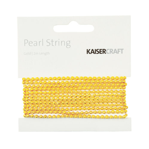 Pearl String - GOLD