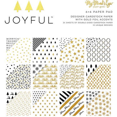 My Minds Eye - Joyful  6x6 Paper Pad