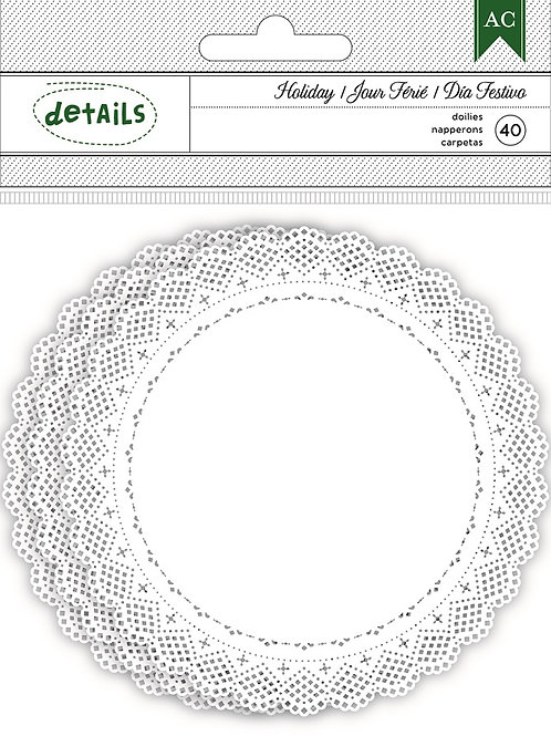 American Craft Doilies 40 pack