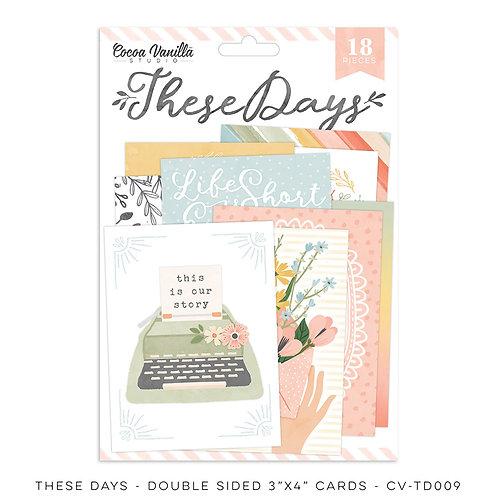 Cocoa Vanilla Studios *PRE-ORDER* THESE DAYS – Pocket Cards