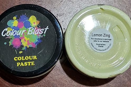 Colour Blast - Colour paste- Lemon zing