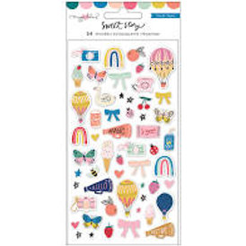 Crate Paper - Sweet Story - Puffy Stickers