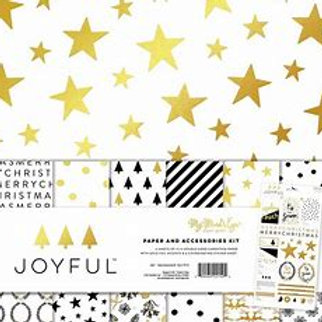 My Minds Eye - Joyful  12x12 Paper Pack