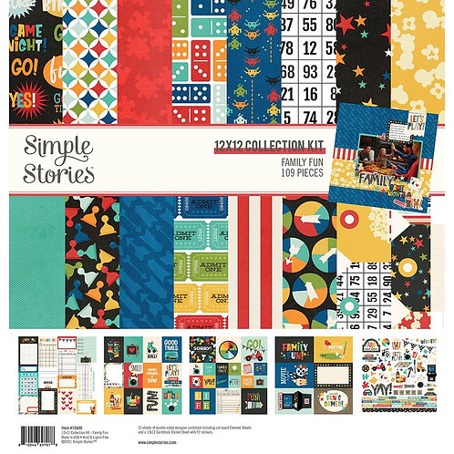 Simple Stories - Family Fun Collection Papers