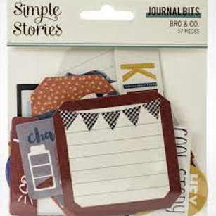 Simple Stories - Bro & Co Journal Bits