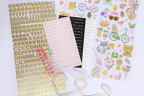 Kitaholic Kits - Scrapbook Kit June 2020