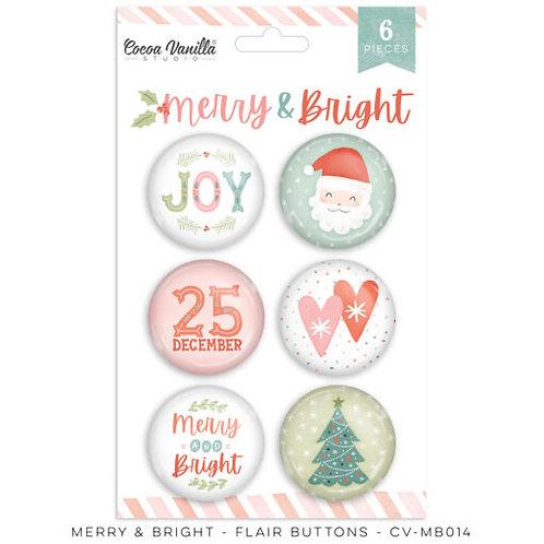 Cocoa Vanilla Studios - Merry and Bright - Flairs