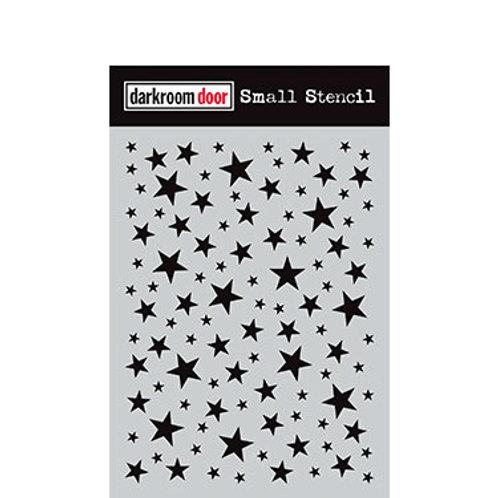Darkroom Door Small Stencil - Starry Night