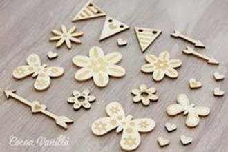 Cocoa Vanilla - Sugar & Spice - Wood Veneer