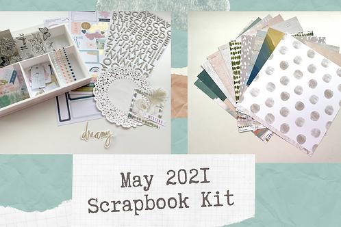 Kitaholic Kit - Scrapbook  Kit May 2021
