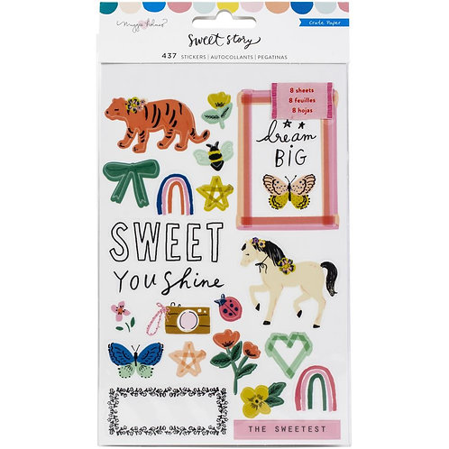 Maggie Holmes - Sweet Story - Sticker Book