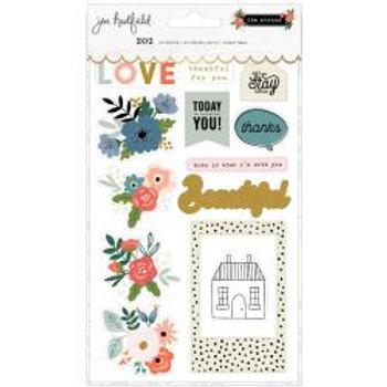 Jen Hadfield The Avenue Sticker Book 202/Pkg