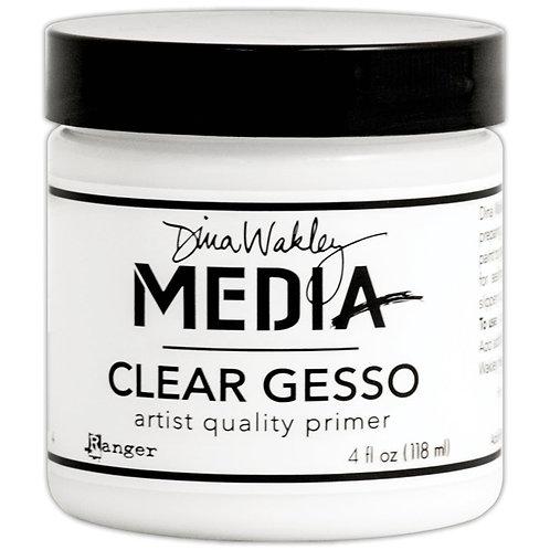 Dina Wakley Media Gesso 4oz Jar Clear