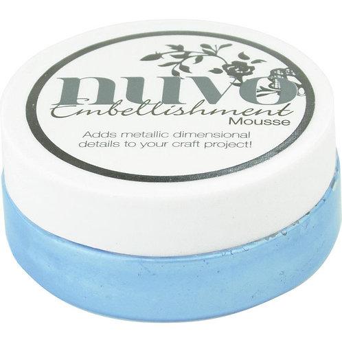 Nuvo Mousse - Cornflower Blue