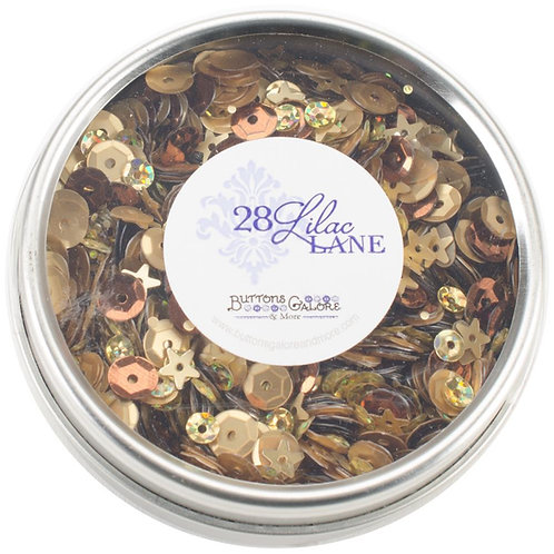 28 Lilac Lane Tin W/Sequins 40g  - Not so Heavy Metal