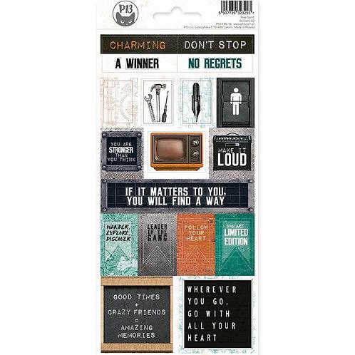 "Free Spirit Cardstock Stickers 4""X9"" #02"