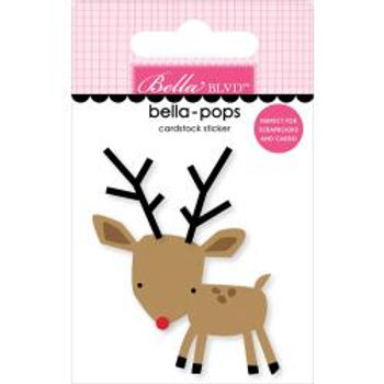 Fa La La Bella-Pops 3D Stickers - Raindeer