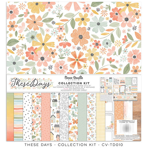 Cocoa Vanilla Studios *PRE-ORDER* THESE DAYS – COLLECTION KIT
