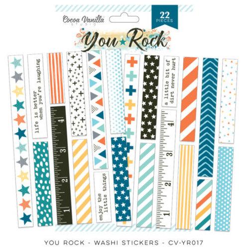 Cocoa Vanilla Studios - You Rock- Washi Stickers