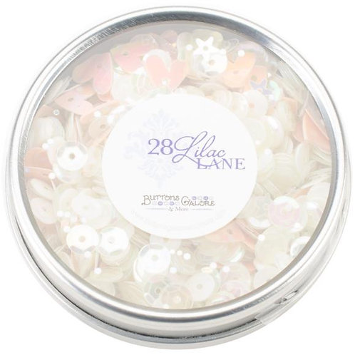 28 Lilac Lane Tin W/Sequins 40g - Fairy Sparkle