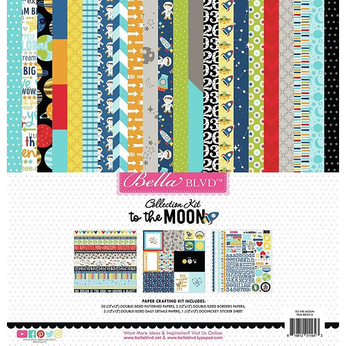 Bella Blvd - To The Moon - Collection Kit