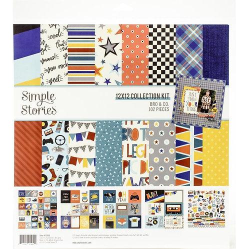Simple Stories - Bro & Co Paper Pack