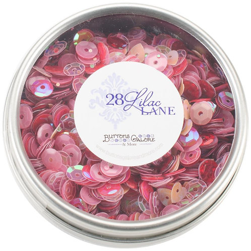 28 Lilac Lane Tin W/Sequins 40g - My Valentine